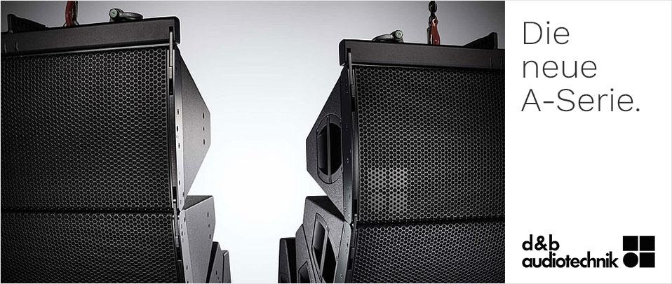 d&b audiotechnik neue A-Serie